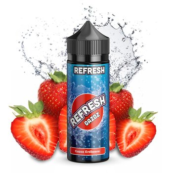 Refresh Gazoz Erdbeere 10 ml Aroma Bottle in Bottle