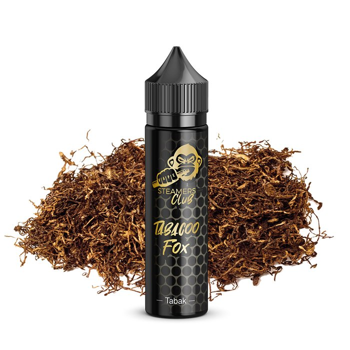 STEAMERS CLUB Tobacoo Fox 20 ml Aroma 60 ml Flasche Longfill