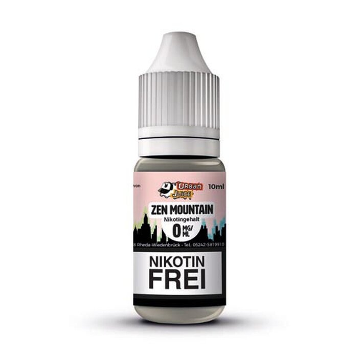 Urban Juice Zen Mountain Liquid 12 mg