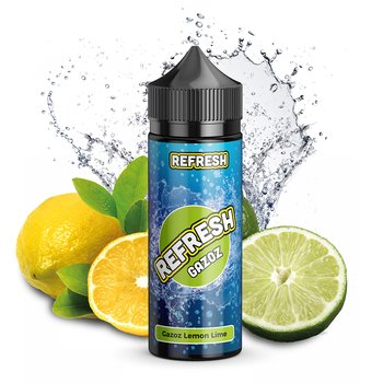 Refresh Gazoz Lemon Lime 10 ml Aroma Bottle in Bottle