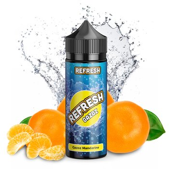 Refresh Gazoz Mandarine 10 ml Aroma Bottle in Bottle